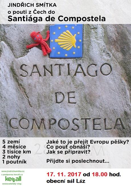 O pouti z Čech do Santiága de Compostela  1