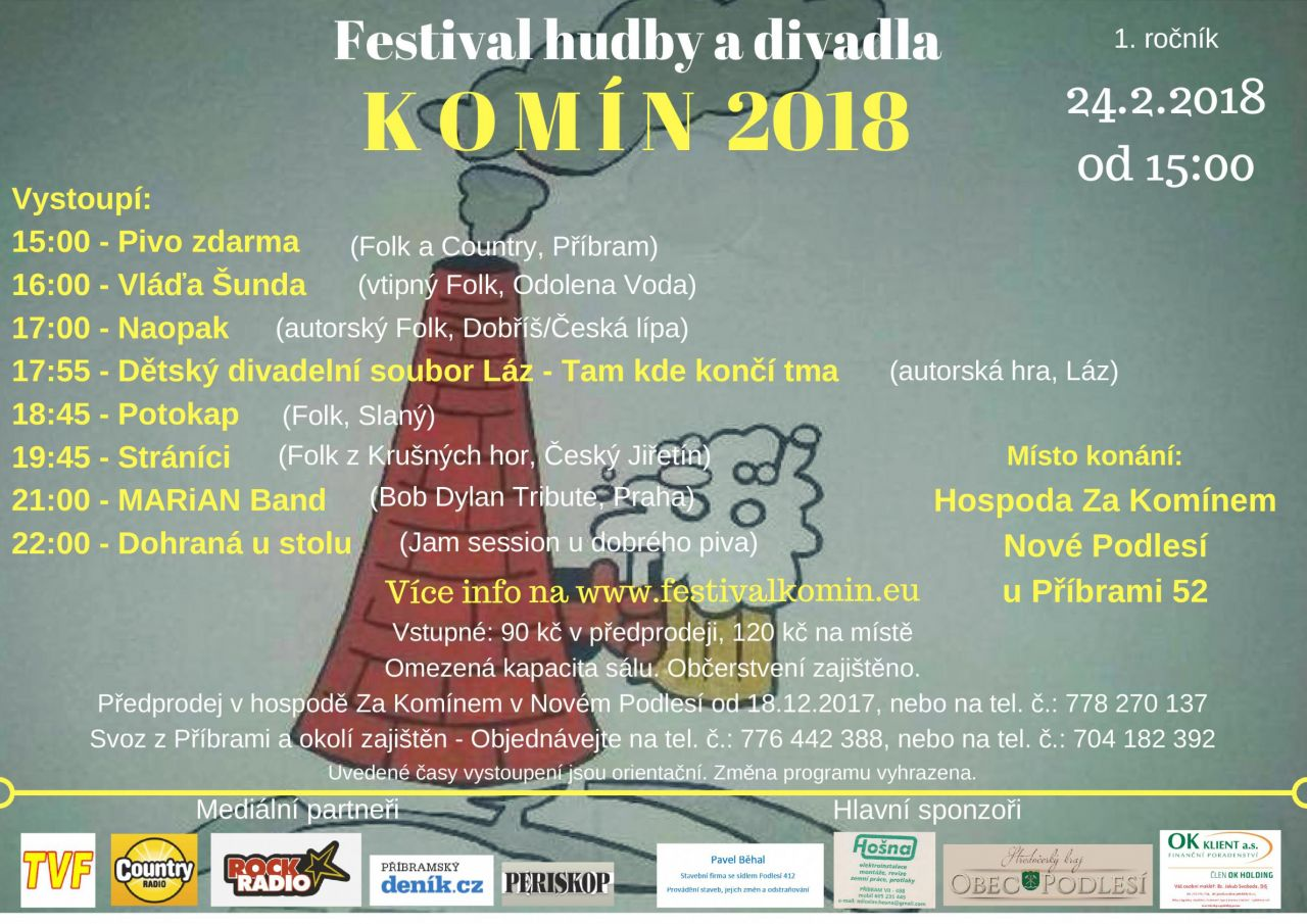 Festival KOMÍN 2018 1
