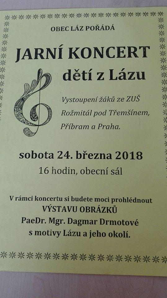 Jarní koncert dětí z Lázu  1