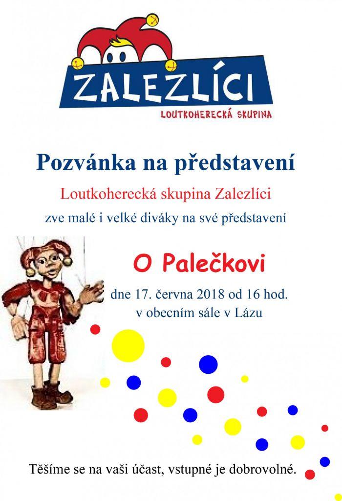 Divadelní představení O Palečkovi 1