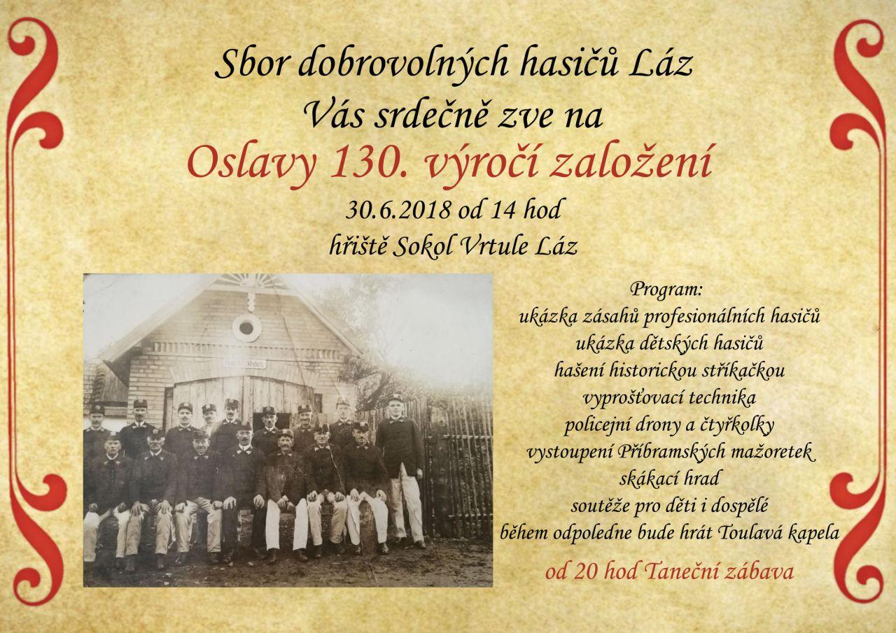 130. výročí založení SDH  1